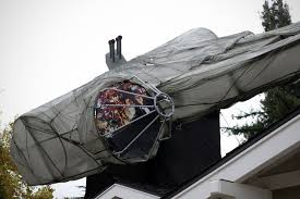 roof decoration diy 29 foot millennium falcon roof decoration is the best way to