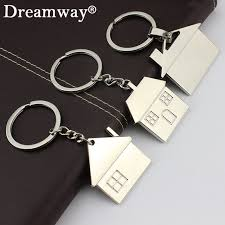 fashion key rings images Buy lovely house keychain fashion key rings warm jpg