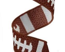 football ribbon football ribbon etsy