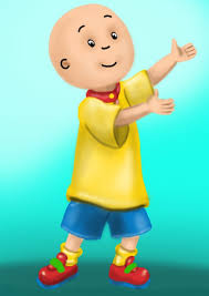 learn draw caillou caillou step step drawing tutorials