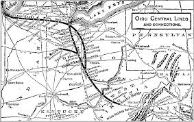 toledo ohio map unofficial home page of the toledo and ohio central railroad