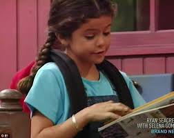 Barney And The Backyard Gang A Day At The Beach Selena Gomez Starred Alongside Purple Dinosaur Barney In First