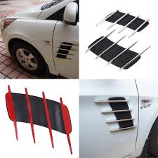 subaru side decal new car side bonnet air vent grill decoration outlet decorative