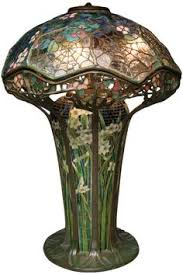 Louis Comfort Tiffany Lamp Cobweb Stained Glass Lamp 1900 By Louis Comfort Tiffany Jv