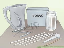 how to make borax ornaments 7 steps with pictures