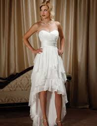 popular high low country wedding dress plus size buy cheap high