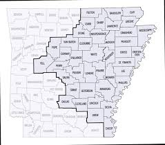 us map of arkansas us probation and pretrial services eastern district of arkansas