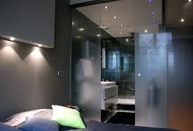 ouverte sur chambre chambre avec salle de bain ouverte et dressing suite parentale