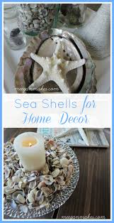 decorating for summertime with shells what meegan makes