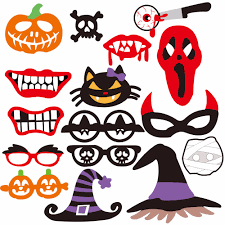 Halloween Photo Booth Props Zophil Halloween Decoration Photobooth Props Hollywood Event Party