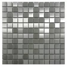 kitchen backsplash stainless steel tiles stainless steel 1