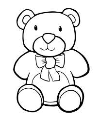 elegant coloring teddy bear 80 additional free colouring