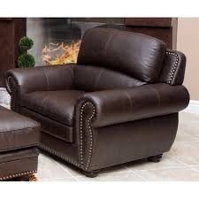 Abbyson Living Leather Sofa Abbyson Living Harrison 4 Piece Leather Sofa Set In Brown Jc