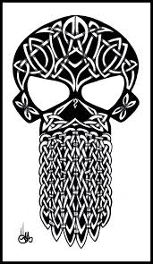 Celtic Skull - celtic skull by shepush on deviantart