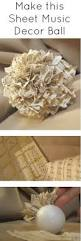 Romantic Home Decor by Easy To Make Romantic Sheet Music Decorating Projects Diy Vintage