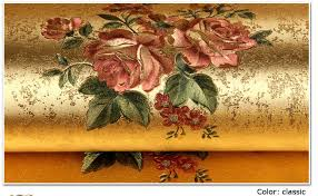 wallpaper bunga warna orange rose flower gold foil wallpaper gold embossed background wall
