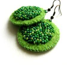 felt earrings felt crafts ideas craft ideas on felt crafts