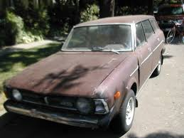 subaru leone sedan fascination of the boring a brown subaru leone four wheel drive