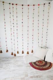 Curtains With Pom Poms Decor 18 Best Images About Diy Room Decor On Pinterest Pom Pom Rug
