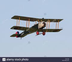 avro 504k great war aircraft e3273 g adev flying at the stock
