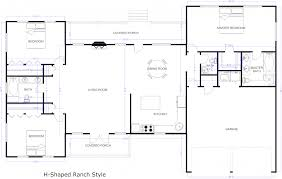 make a house floor plan story house floor plan with dimensions exle ranch plans