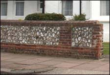 walls front garden boundary