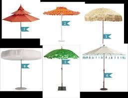 7 Patio Umbrella 6 Awesome Patio Umbrellas Excellence At Home