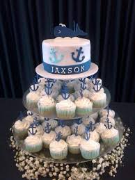 how to make an anchor cupcake cake anchor cupcakes cakes baby