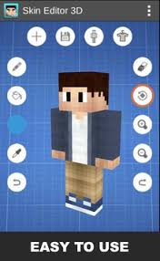 minecraft 7 0 apk skin editor 3d for minecraft apk free tools app for
