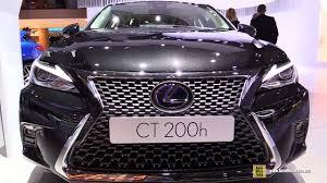 lexus ct200h cost 2018 lexus ct200h exterior and interior walkaround 2017