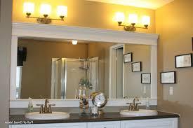 Trim For Mirrors In Bathroom Silver Leaf Crown Millworks For Mirror Frames Border Trim To
