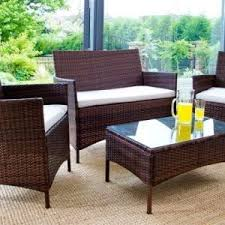 wicker table and chairs cheap patio furniture sets outdoor patio