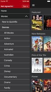 quickflix movie u0026 tv show streaming on the app store
