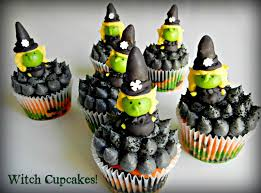 Mini Halloween Cakes by Sugar Swings Serve Some Witchy Cupcakes For Halloween