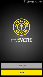 gold u0027s gym mypath android apps on google play