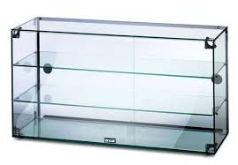 glass counter display cabinet gc39d glass display cabinet 900mm wide mm catering wholesale
