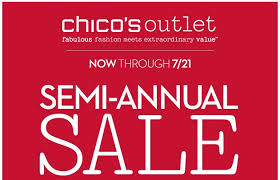 chicos outlet jul 15 2014 chico s outlet semi annual sale outlet stores