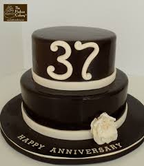 chocolate u0026 ivory anniversary cake celebrations the hudson cakery