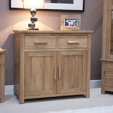 Solid Oak Furniture Eton Solid Oak Furniture Small Storage Sideboard Amazon Co Uk