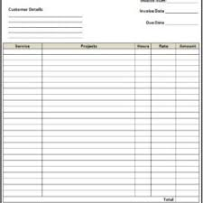 awesome free blank invoice template pdf vlashed