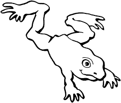 jumping frog coloring page kids drawing and coloring pages