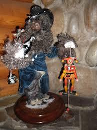 Santa Claus Dolls Handmade - santa claus figurines handmade by satter at buckskin