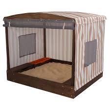 badger basket covered convertible cedar sandbox with canopy and