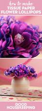 how to make tissue paper flower lollipops valentine u0027s day diy
