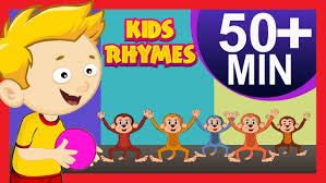 five little monkeys nursery rhymes and more nursery rhymes