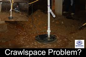dirty damp crawlspace repair rescon basement solutions nh and ma