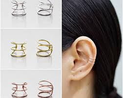 cuff earings cuff wrap earrings etsy