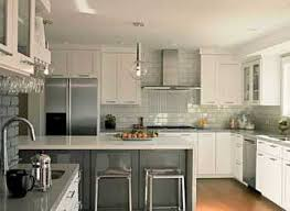 kitchens with stainless steel backsplash white kitchen with stainless steel backsplash grousedays co