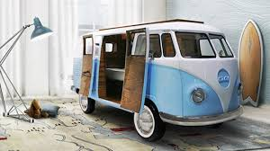 volkswagen bus the 40 000 vw bus bed for your kid u0027s rooms