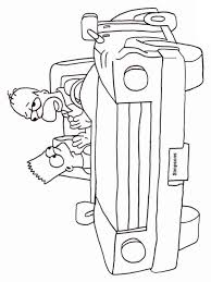 the simpsons coloring pages download and print the simpsons